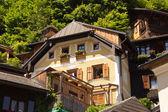 Houses in Halstatt — Stock Photo