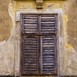 Stock Photo: Old shutter