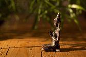 Praying Hindu statue — Stock Photo