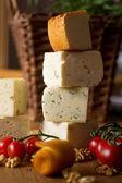 Composición del queso — Foto de Stock