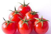 Fresh cherry tomatoes — Stock Photo