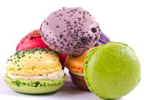Colorful macarons — 图库照片