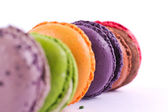 Colorful macarons — Stock Photo