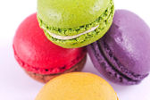 Colorful and delicious macarons — Stockfoto