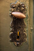 Old door handle — Stockfoto