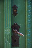 Aged door handle — Stock Photo