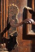 Ornate door handle — Stock Photo