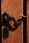 Old door handle — Stock Photo