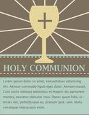 Chrzest zaproszenia karty — Wektor stockowy