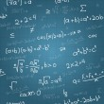 Mathematical formulas vector seamless pattern on blueprint. Vector — Stock Vector #50231765