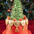 Stock Photo: Christmas cake