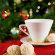 Snowball cookies — Stock Photo