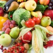 Stock Photo: Fruits and vegetable
