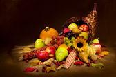 Autumn Cornucopia — Stock Photo