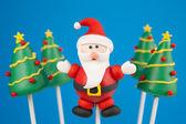 Noel kek pops — Stok fotoğraf