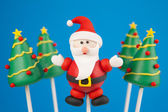 Pastel de navidad papá — Foto de Stock