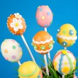 Easter egg cake pops — Stock Photo #39475431