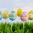 Easter egg cake pops — Stock Photo #39475907