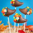 Cornucopia cake pops — Stock Photo #39476121