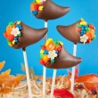 Stock Photo: Cornucopicake pops