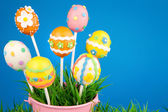 Easter egg cake pops — Stockfoto