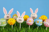Easter cake pops — Stock fotografie