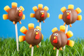 Turkey cake pops — Stock Photo