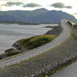 Atlantic road, Norway (Atlanterhavsvegen)  — Stock Photo