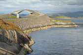 Atlantic road, Norway (Atlanterhavsvegen) — Stock Photo