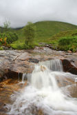 Wasserfall in der schottischen Highlands, Schottland. Uk. — Stockfoto