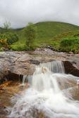 Waterfall at Scottish highlands, Scotland. UK. — Stock Photo