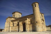 Romanesque Church Fromista on the way to Santiago, Palencia, Spa — Stock Photo