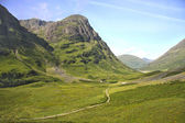 Glencoe, Scottish Higland, Scotland. UK. — Foto de Stock