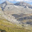 Stock Photo: Monte perdido in OrdesNational Park, Huesca. Spain.