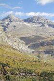 Monte perdido dans le parc national d'ordesa, huesca. espagne. — Photo