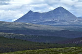 Mountains in Rondane National Park, Norway. — Stock Photo