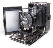 Old photo camera — Stockfoto