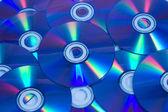 空白 cd dvd 磁盘 — 图库照片