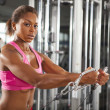 Female workout 11 — Stock Photo #35596709