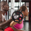 Couple fitness workout 04 — Stock Photo #35596917