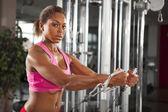 Female workout 11 — Stock Photo