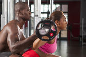 Couple fitness workout 04 — Stock Photo