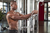 Muscled man workout 12 — Stock Photo