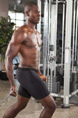 Muscled man workout 11 — Stock Photo