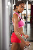 Female workout 06 — Stock Photo