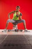 Female workout 04 — Stock Photo