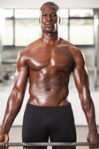 Muscled man workout 02 — Stock Photo