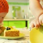 Kid birthday cake. — Stock Photo