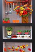 Floral decoration in Keukenhof — Stock Photo