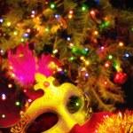 Beautiful Christmas card, Новый год, Рождество — Stock Photo
